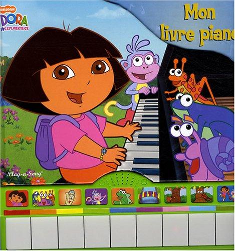 9782800698670: Dora l'exploratrice : Mon livre piano