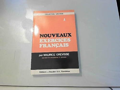 Nouveaux exercices francais (280110115X) by Maurice Grevisse