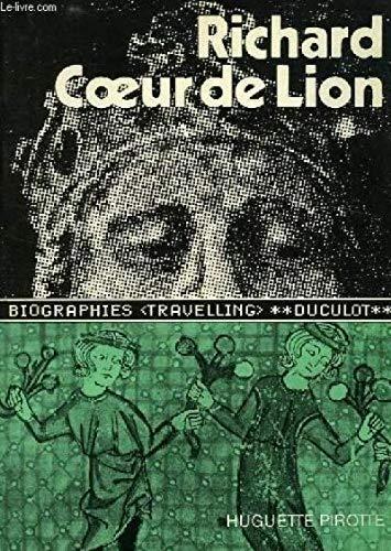 9782801103401: Richard Coeur de Lion (Biographies travelling)