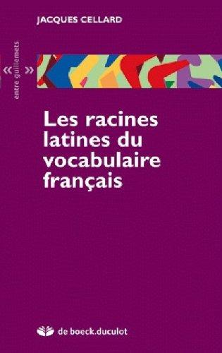9782801114094: Les racines latines du vocabulaire français