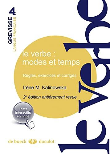 VERBE MODES ET TEMPS REGLES EXERC CORRII: KALINOWSKA 2E ED 14