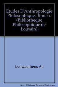 9782801701300: Études d'anthropologie philosophique
