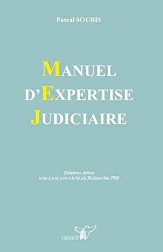9782802201069: Manuel d'expertise judiciaire