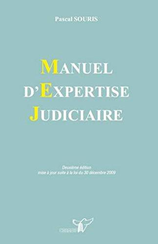 9782802201069: manuel d'expertise judiciare (2e édition)