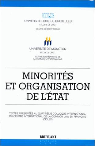 Minorites et organisation de l etat: Levrat, Nicolas