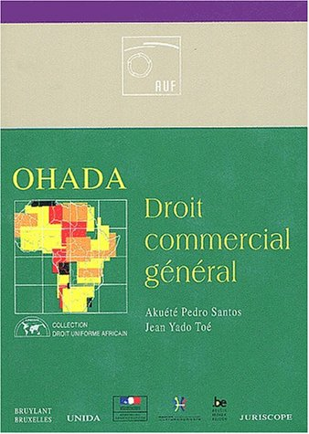 9782802716051: OHADA : Droit commercial g�n�ral