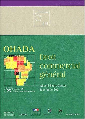 OHADA : Droit commercial général: Santos