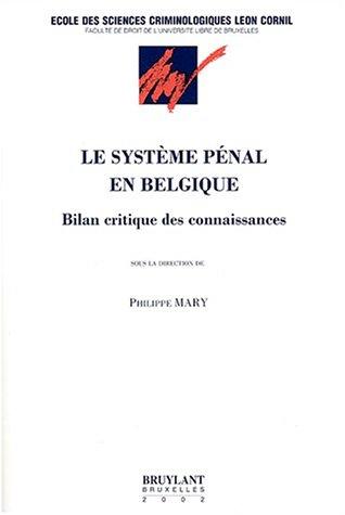 9782802716570: Le système pénal en Belgique