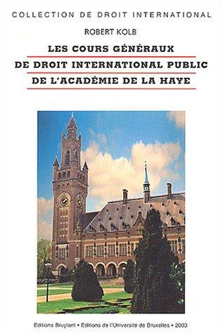 les cours genereaux de droit international public de l'academie de la haye (2802717936) by [???]