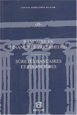9782802718598: suretes bancaires et financieres