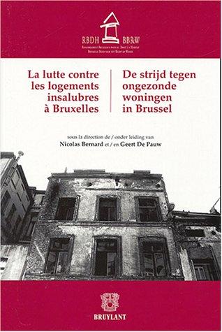 9782802718611: la lutte contre les logements insalubres a bruxelles