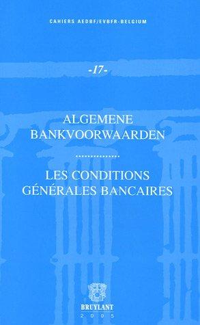 les conditions generales bancaires: Jean-Pierre Buyle, Michel Tison