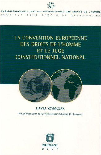 covention europeenne droits de l'homme (