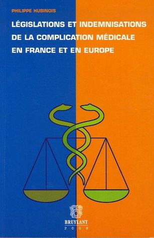 legislations et indemn.de la complicatio: Philippe Hubinois