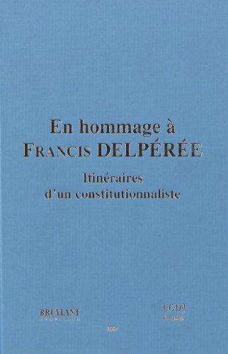 en hommage à Francis Delperee: Christian Reumont