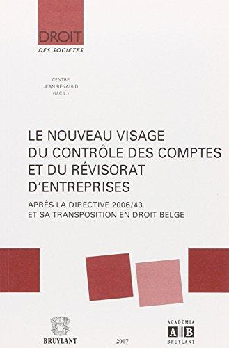 nouveau visage du controle des comptes e: Hugues Fronville, Michel De Wolf, Patrick De Wolf, Yves ...