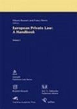 9782802725343: european private law : a handbook