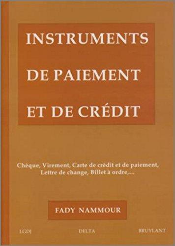 instruments de paiement et de crédit
