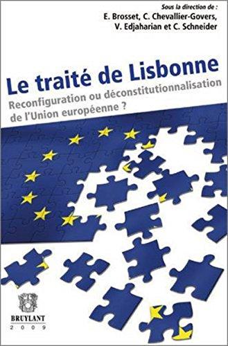 Le traité de Lisbonne (French Edition): Estelle Brosset