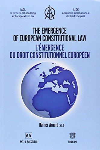 9782802727774: Emergence d'un Droit Constitutionnel Europeen (l')