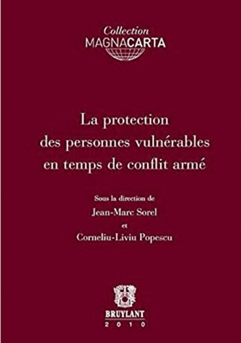 9782802728337: Protection des personnes vulnérables en temps de conflit armé