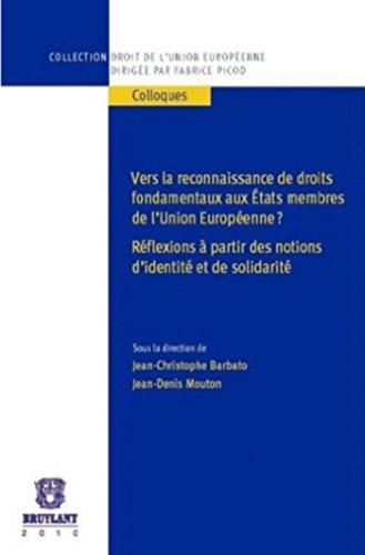 Vers la Reconnaissance de Droits Fondame: Jean-Christophe Barbato, Jean-Denis Mouton