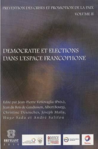 Democratie et Elections Dans l'Espace