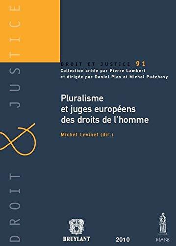 9782802729846: Pluralisme et juges européens des droits de l'homme
