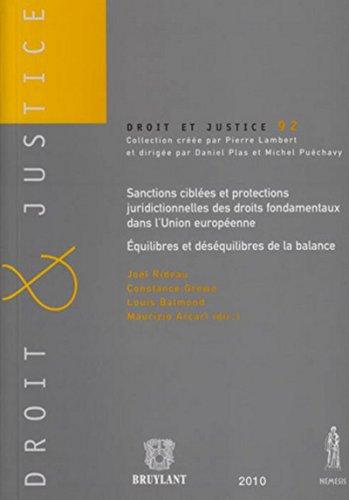 9782802729853: Sanctions cibl�es et protections juridictionnelles des droits fondamentaux dans l'Union europ�eenne : �quilibres et d�s�quilibres de la balance