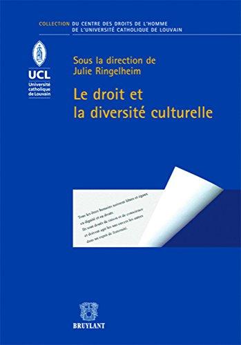 le droit et la diversité culturelle: Julie Ringelheim