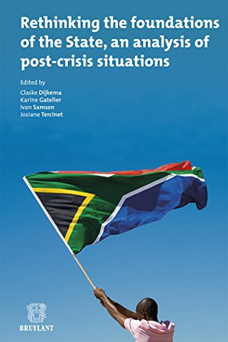 9782802735137: Rethinking the foundations of the State, an analysis of post-crisis situations