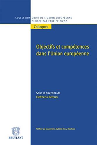 OBJECTIFS ET COMPETENCES DANS L UNION EU: NEFRAMI ELEFTHERIA