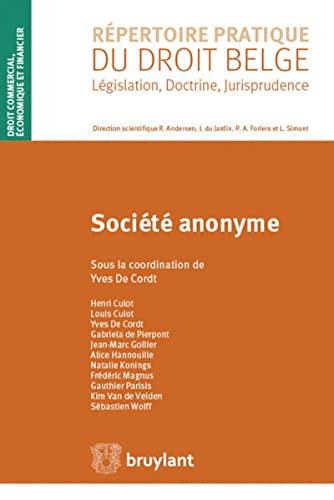 9782802736134: Societe Anonyme