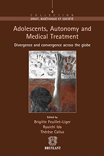 Adolescent, Autonomy and Medical Treatment: Divergence and Convergence Across the Globe (Droit ...