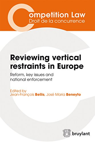Reviewing Vertical Restraints in Europe: Reform, Key Issues and National Enforcement (Competition ...