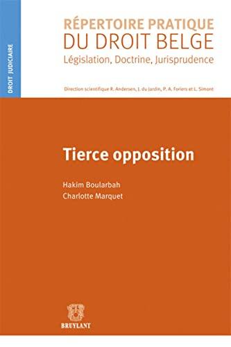 Tierce opposition: Charlotte Marquet, Hakim Boularbah