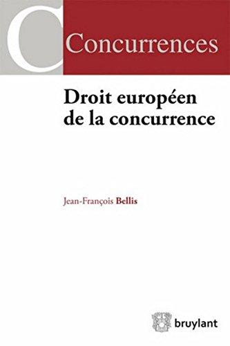 9782802737896: Droit européen de la concurrence (LARC.COMPET.LAW)
