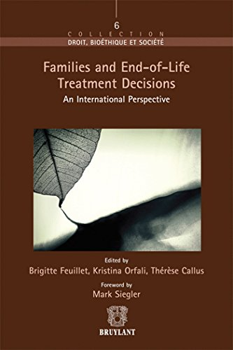 Families an end-of life: Siegler Mark