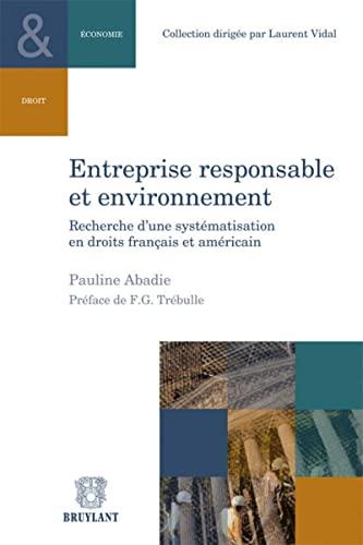 Entreprise responsable et environnement: Pauline Abadie