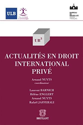 9782802741244: Actualités en droit international privé