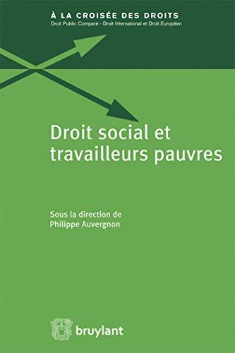 Droit social et travailleurs pauvres: Auvergnon, Philippe; Collectif