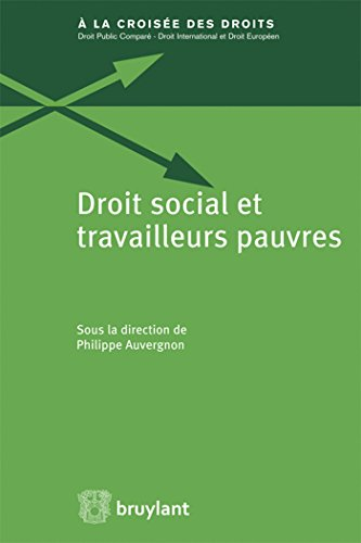 Droit social et travailleurs pauvres: Philippe Auvergnon