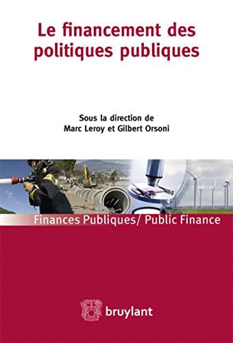 Le financement des politiques publiques: Marc Leroy