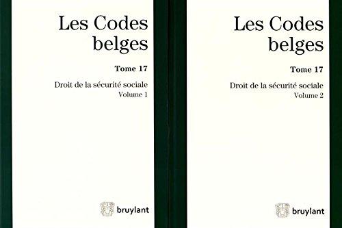 9782802743675: Droit de la sécurité sociale : 2 volumes - Tome 17