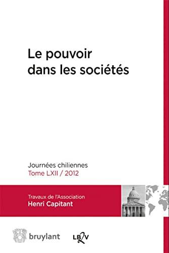 POUVOIR DANS LES SOCIETES -LE-: COLLECTIF ED 2014