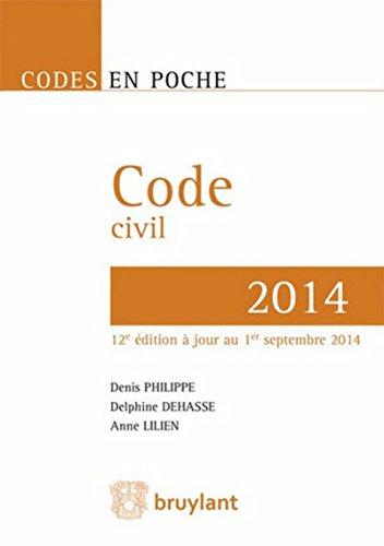 9782802746478: Code Civil - 2014