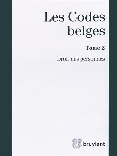 9782802747369: Les codes belges. Droit des personnes 2014