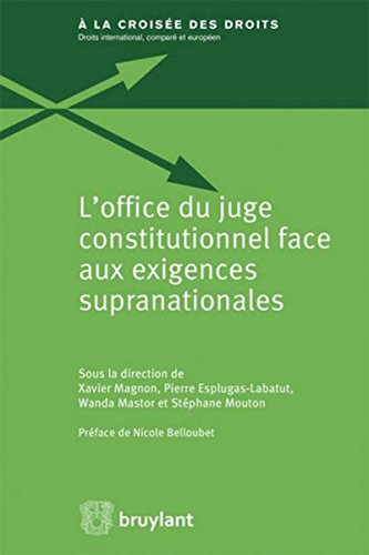 L'office du juge constitutionnel face aux exigences supranationales