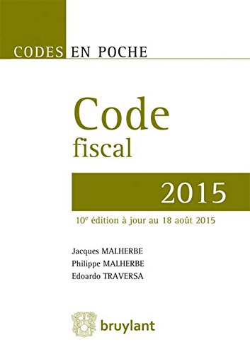 Code fiscal 2015