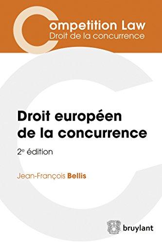 9782802755302: Droit européen de la concurrence (ELSB.COMPET.LAW)